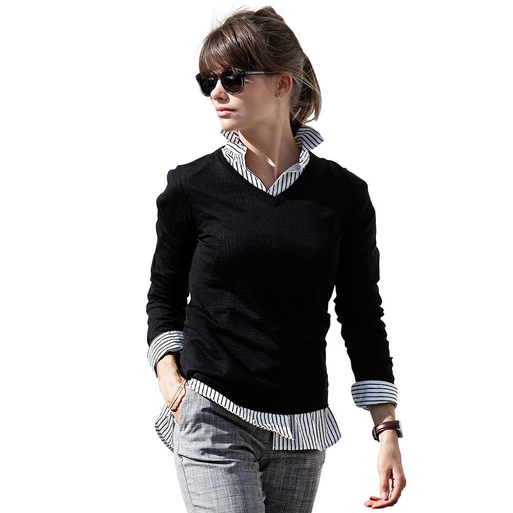 Nimbus Womens Ashbury Merino Blend Pullover Knitted Sweater S - Uk Size 10