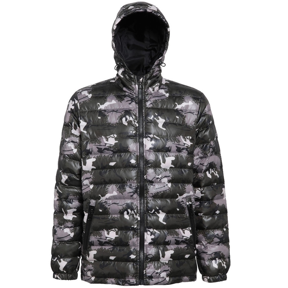 Outdoor Look Mens Evanton Padded Lightweight Puffa Quilted Jacket Coat M- Chest Size 41
