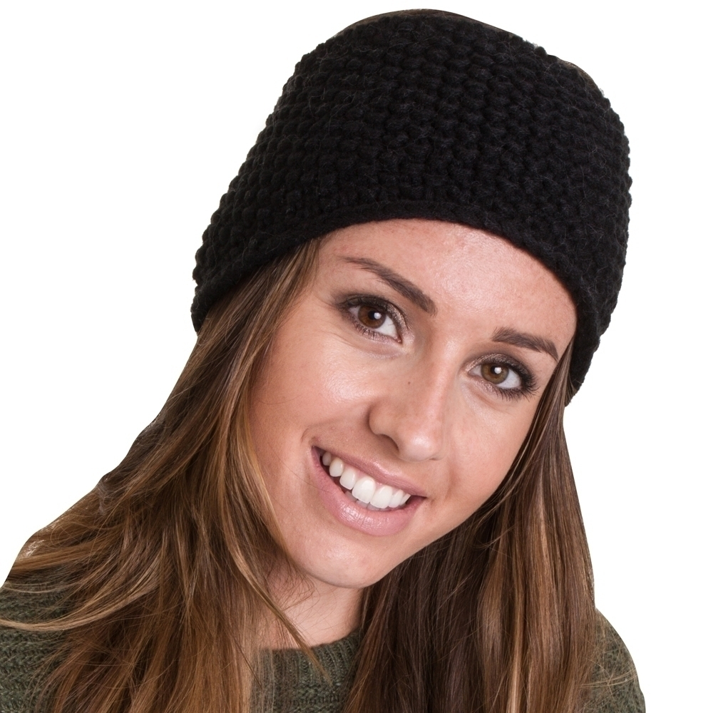 Outdoor Look Womens/Ladies Lybster Waffle Knitted Headband Headwear One Size