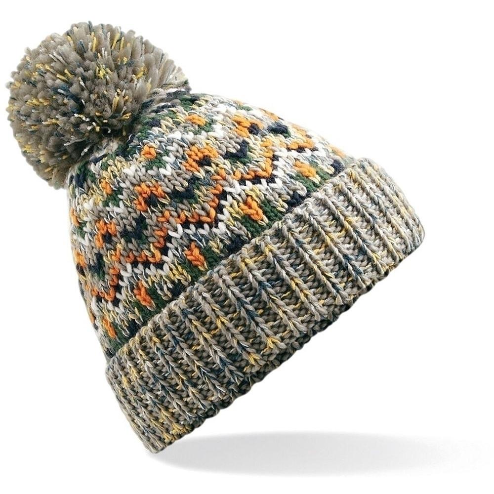 Outdoor Look Womens/ladies Oban Warm Knitted Pom Winter Beanie Ski Hat One Size