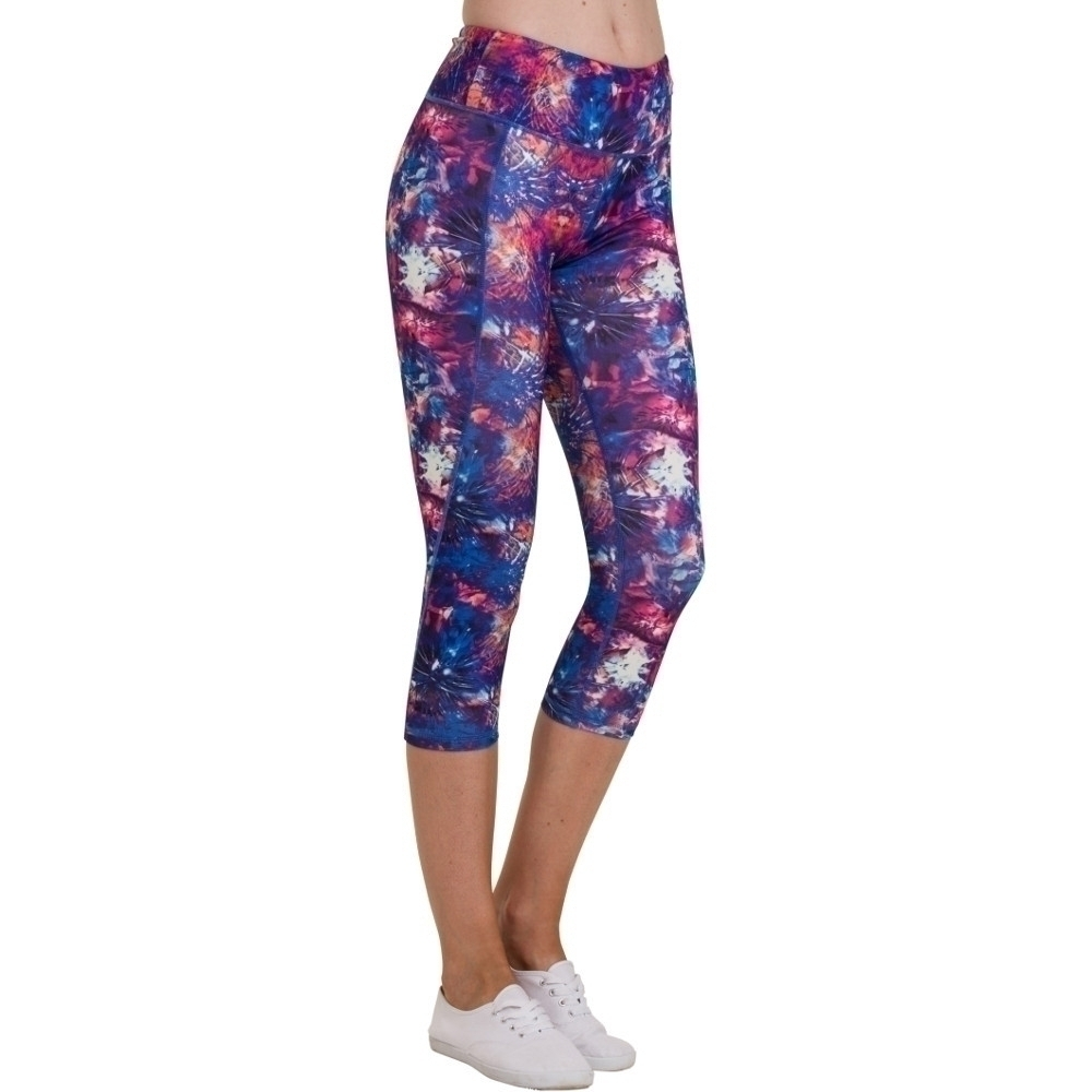 Image of Outdoor Look Womens/Ladies Lomond Yoga Workout 3/4 Length Leggings M- UK Size 12
