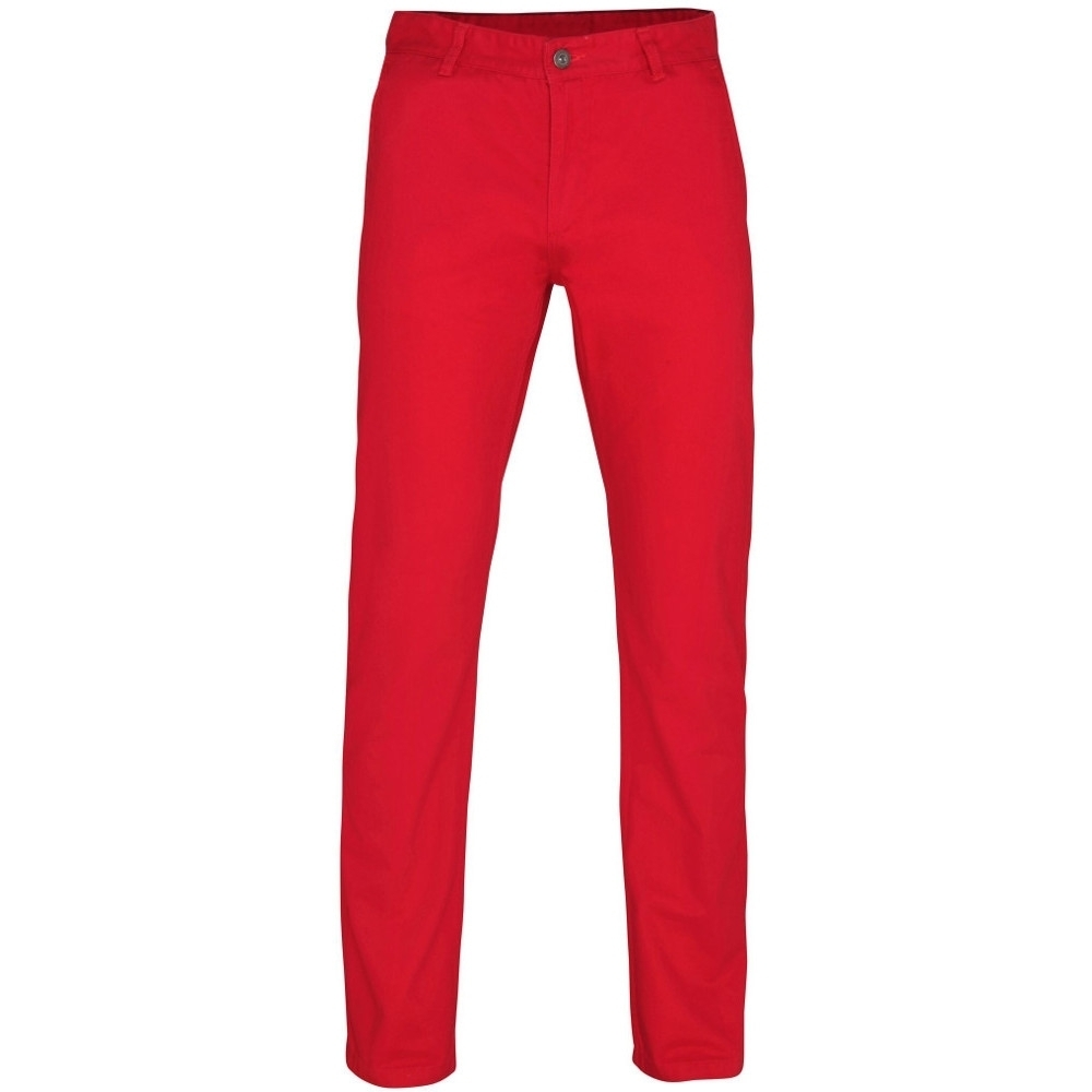 Outdoor Look Mens Groves Classic Casual Soft Chino Trousers L- Waist 36 (inside Leg 34)