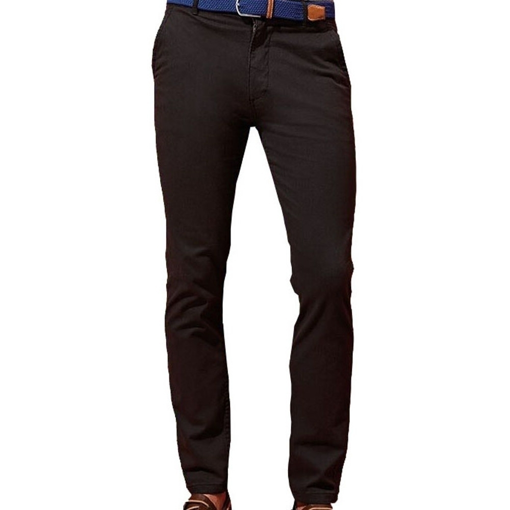 Image of Outdoor Look Mens Willis Slim Fit Casual Chino Trousers S- Waist 32' (Inside Leg 32')
