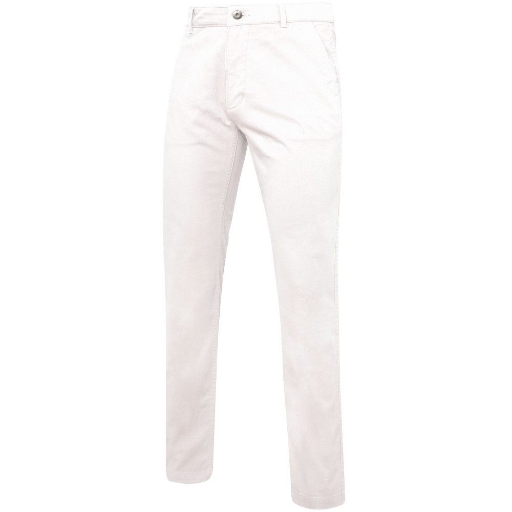 Outdoor Look Mens Willis Slim Fit Casual Chino Trousers 3xl- Waist 42 (inside Leg 32)