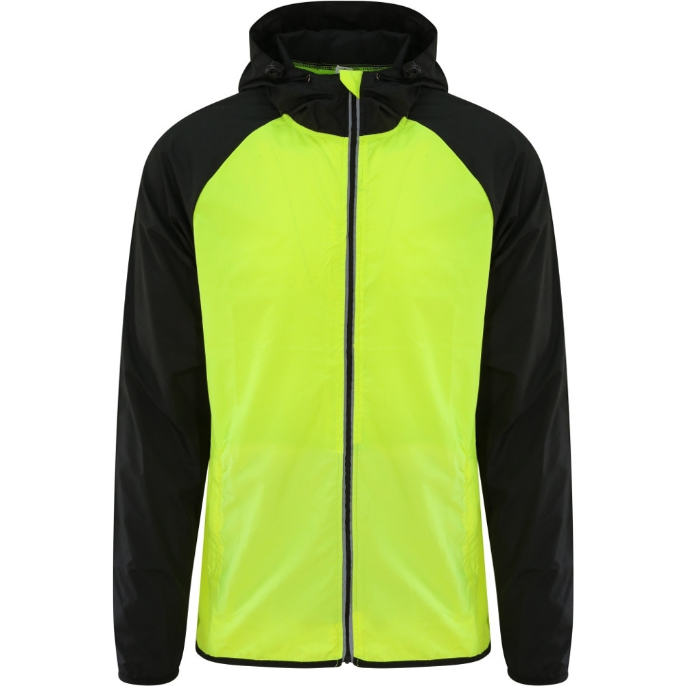 Outdoor Look Mens Cool Contrast Lightweight Shell Jacket L - Chest Size41/43