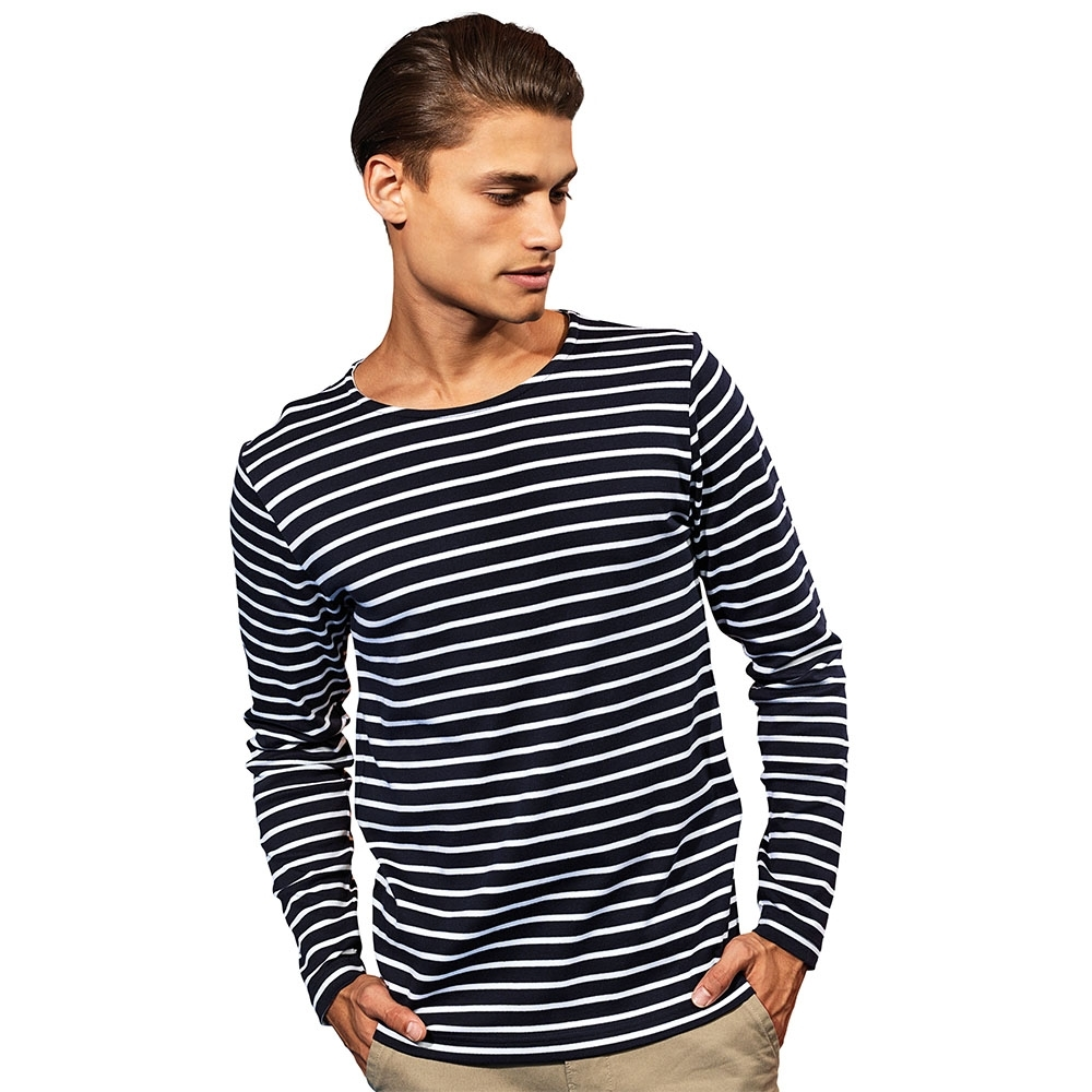 Outdoor Look Mens Marinire Coastal Crew Neck T Shirt Tee 2xl - Chest Size 47