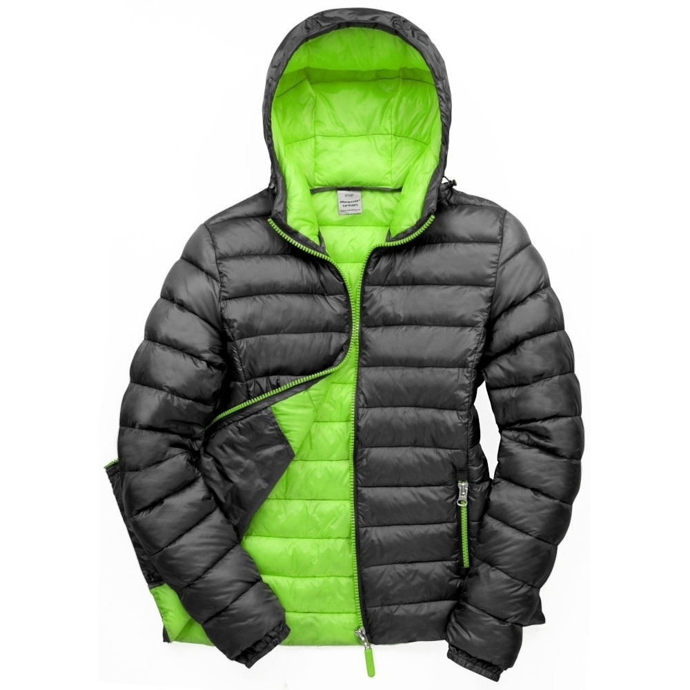 Outdoor Look Womens Bene Insulated Hooded Puffer Jacket