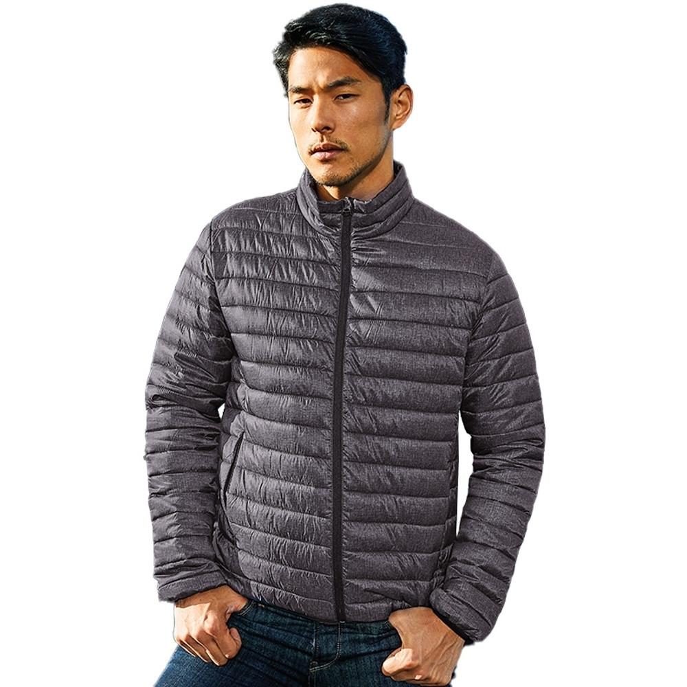Outdoor Look Mens Melange Lightweight Warm Padded Jacket L- Chest 44