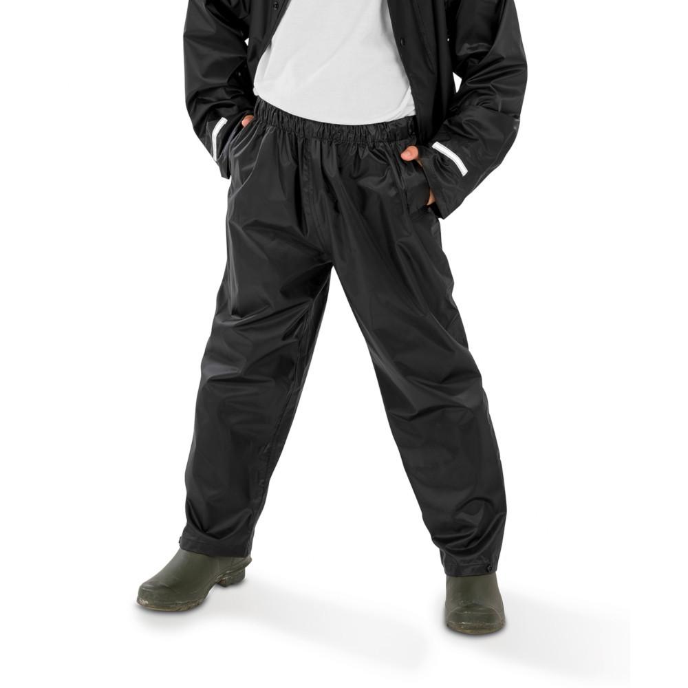 Outdoor Look Kids Core Waterproof Rain Trousers Medium - Age 8/10