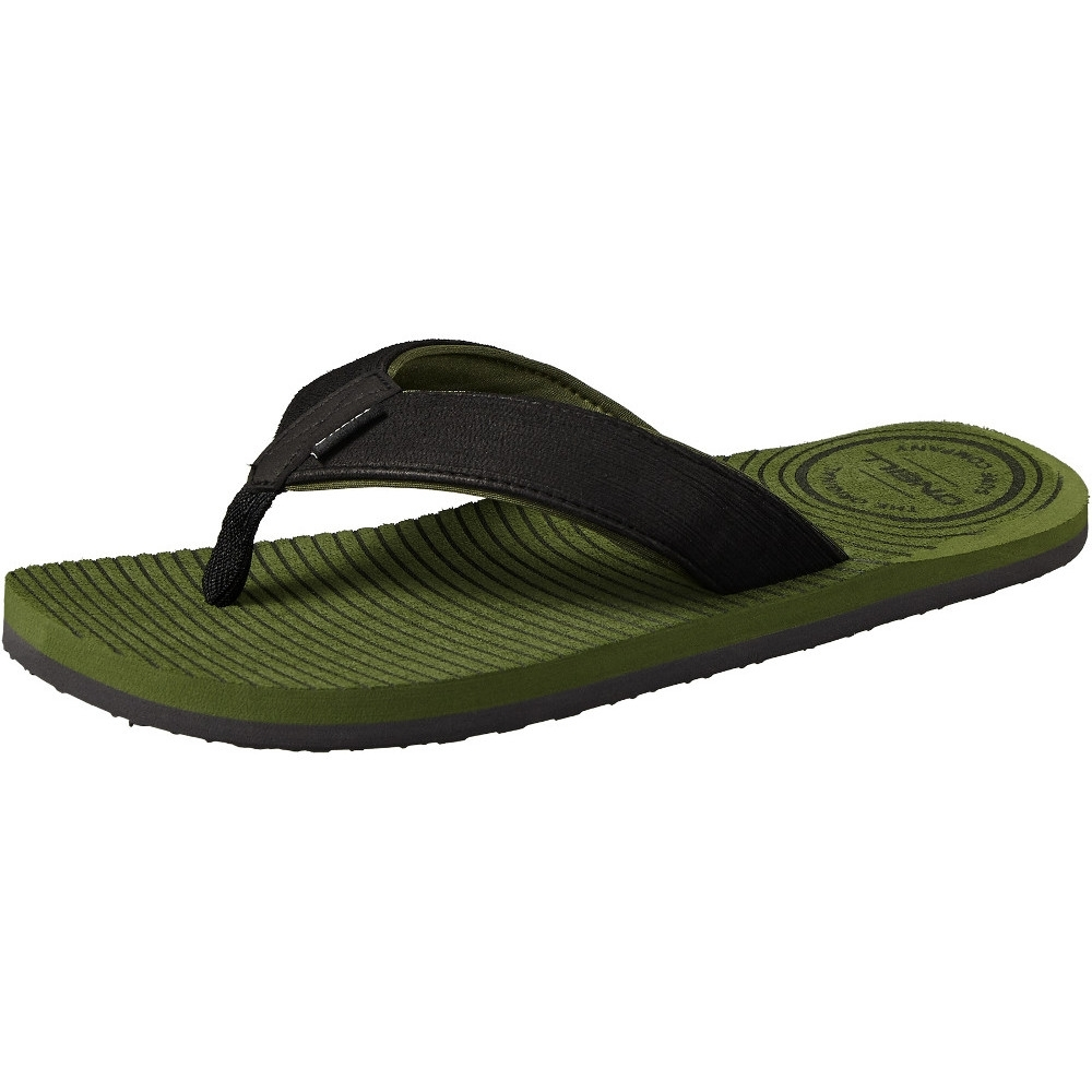ONeill Mens FM Koosh Soft Brushed Toe Post Slide Flip Flops
