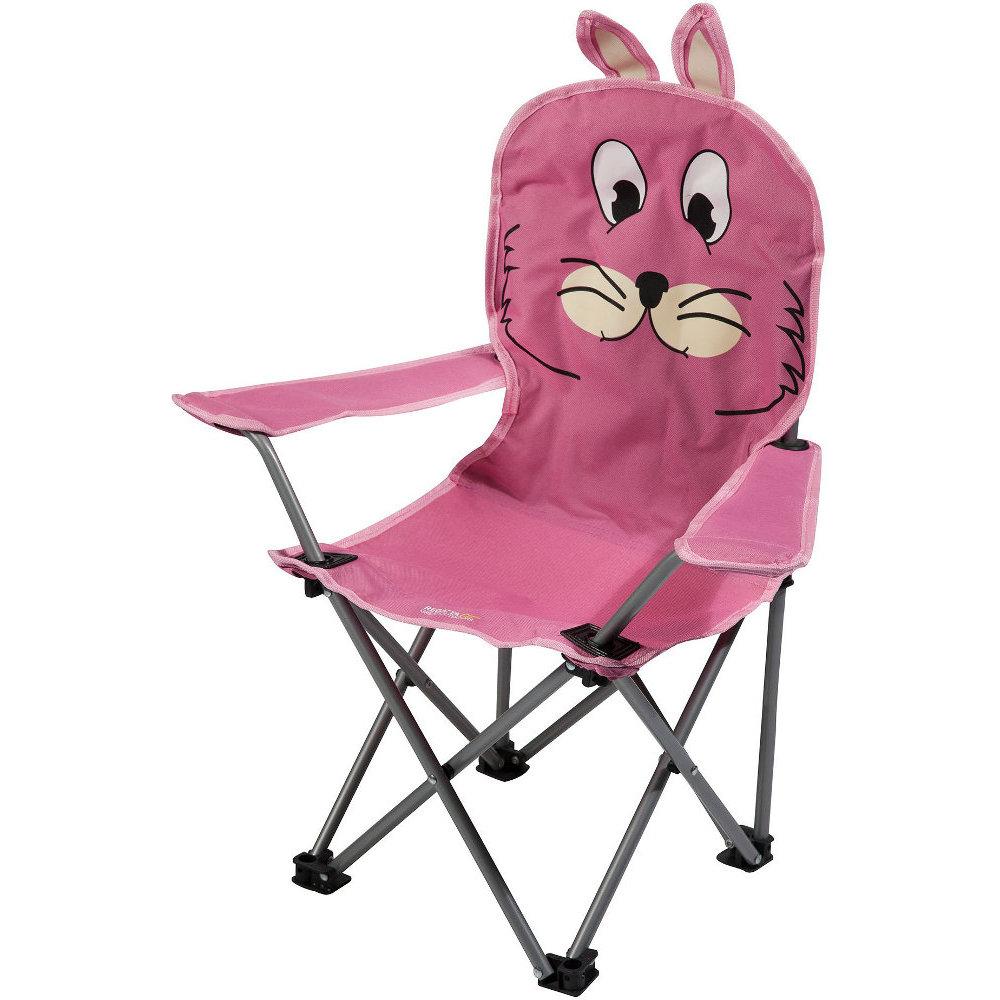 regatta animal pattern kids lightweight steel folding camping chair one size