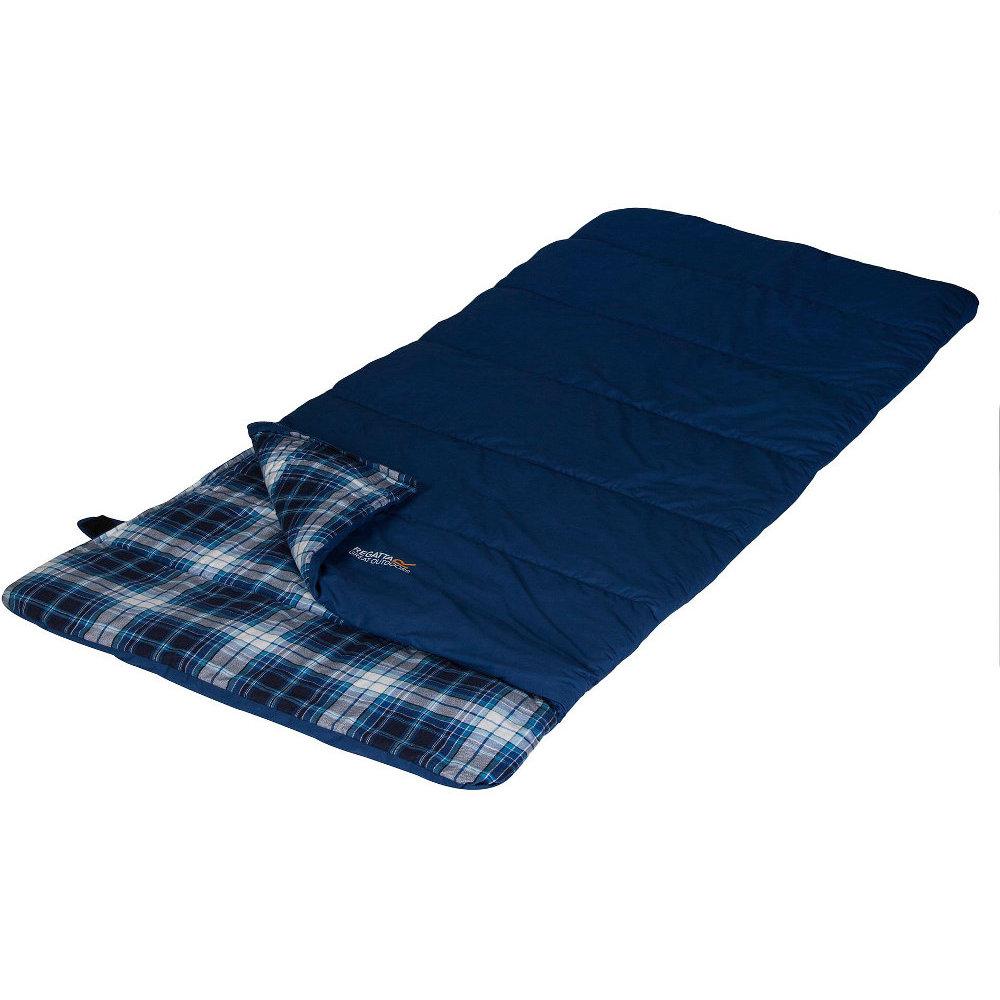 Regatta Bienna Single Soft Cotton Lined Rectangular Sleeping Bag One Size