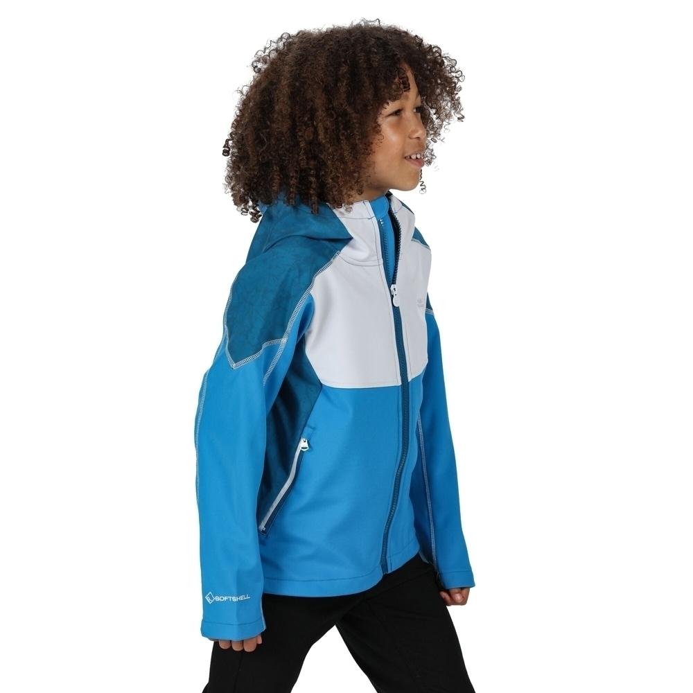 Regatta Boys Acidity Iv Polyester Softshell Jacket 14 Years - Chest 86-98cm (height 164-170cm)