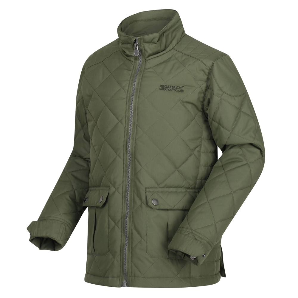 Regatta Boys Zion Polyester Casual Quilted Country Jacket 3-4 Years - Chest 55-57cm (height 98-104cm)