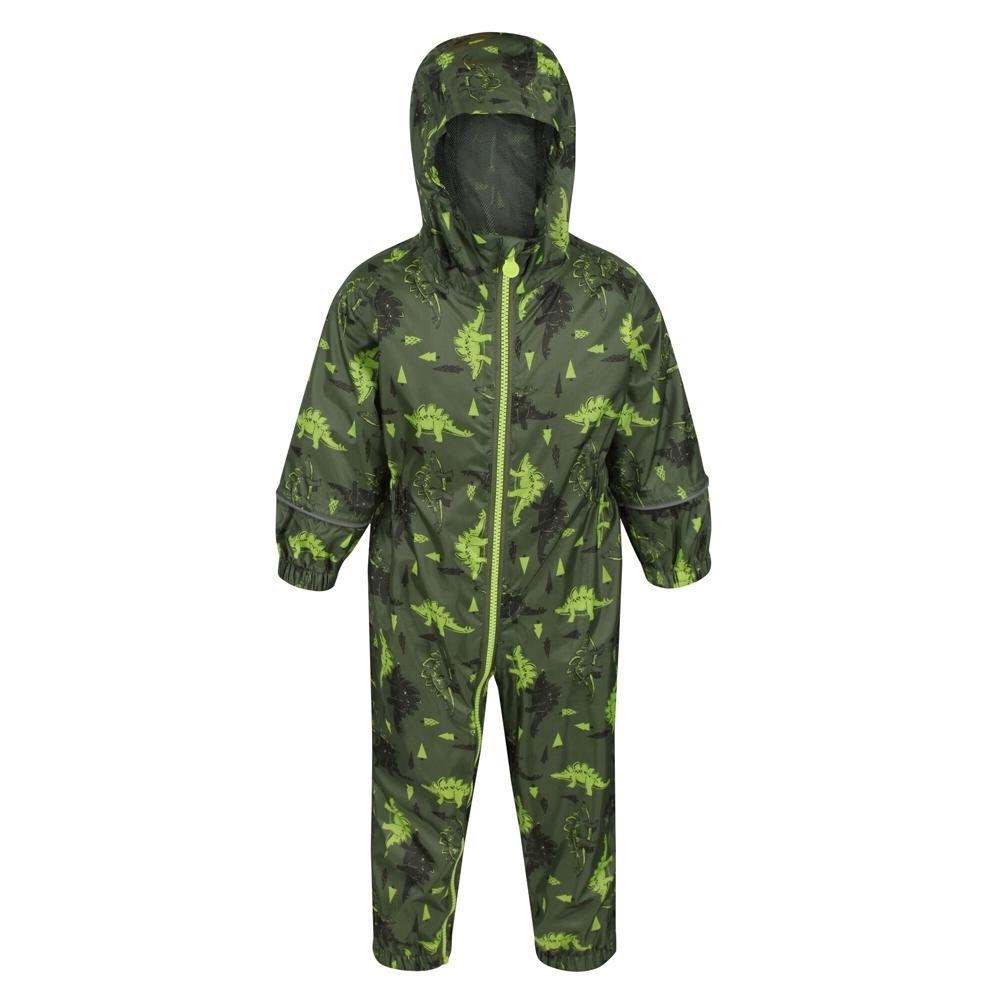 Regatta Boys Pobble Waterproof Breathable Rainsuit Set 24-36 Months (92-98cm)