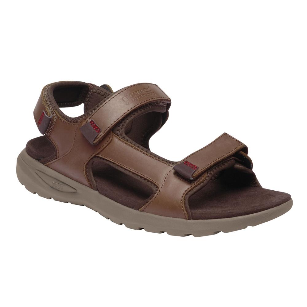 Regatta Mens Marine Leather Lightweight Walking Sandal UK
