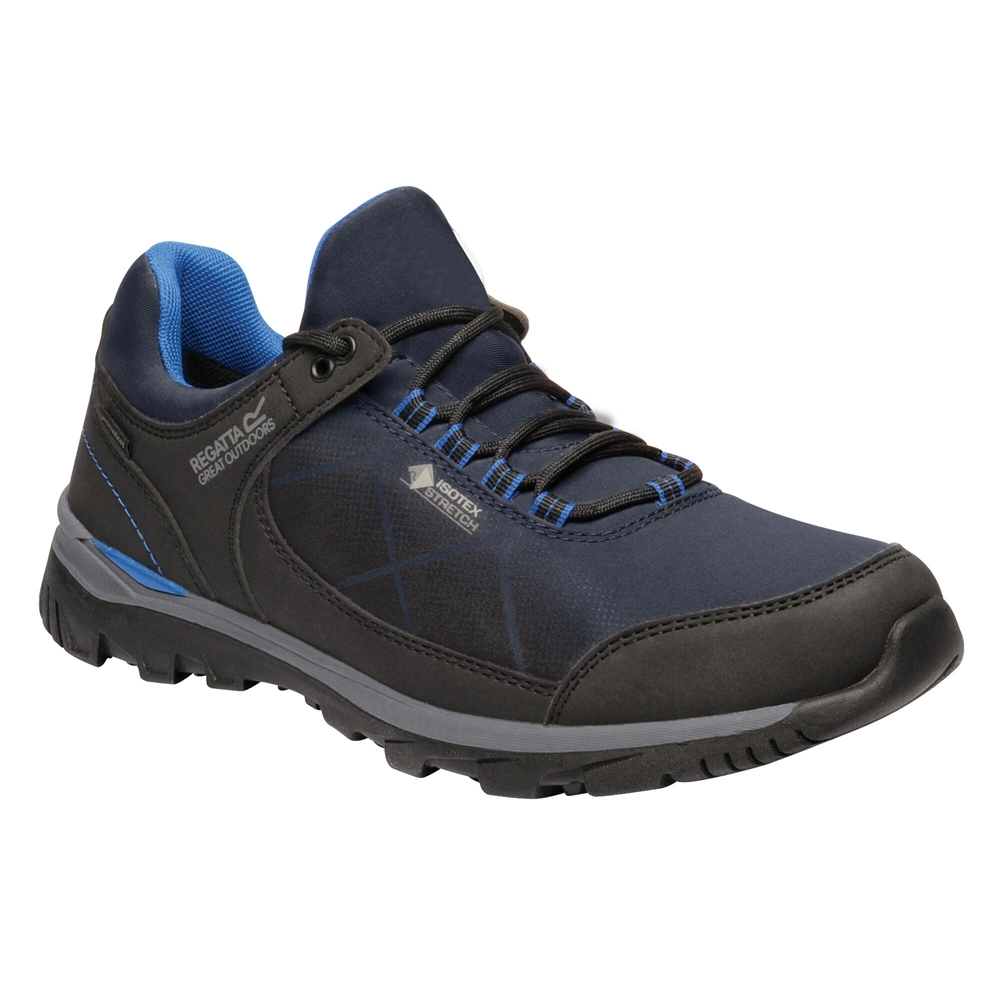 Regatta Mens Highton Stretch Waterproof Walking Shoe Uk Size 9.5 (eu 44)