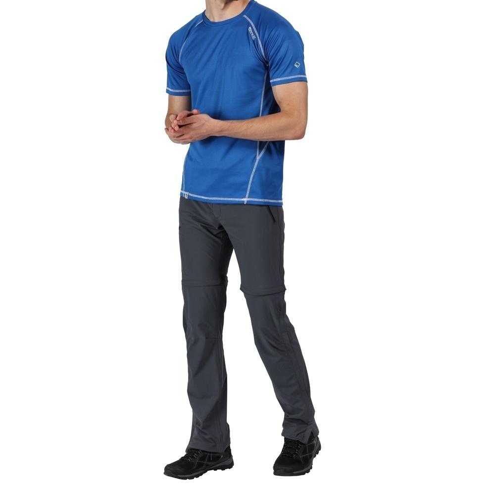 Regatta Mens Xert Stretch Zip Off Iii Walking Trousers 45.5s - Waist 45.5 (116cm)  Inside Leg 32.5 #30