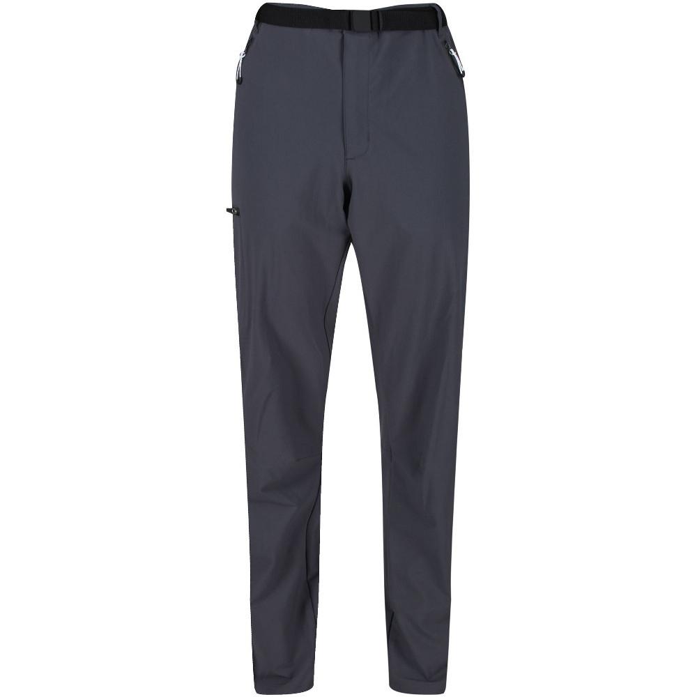 Regatta Mens Delph Polyester Cotton Durable Water Repellent Trousers 44r - Waist 44 (111.5cm)  Inside Leg 32