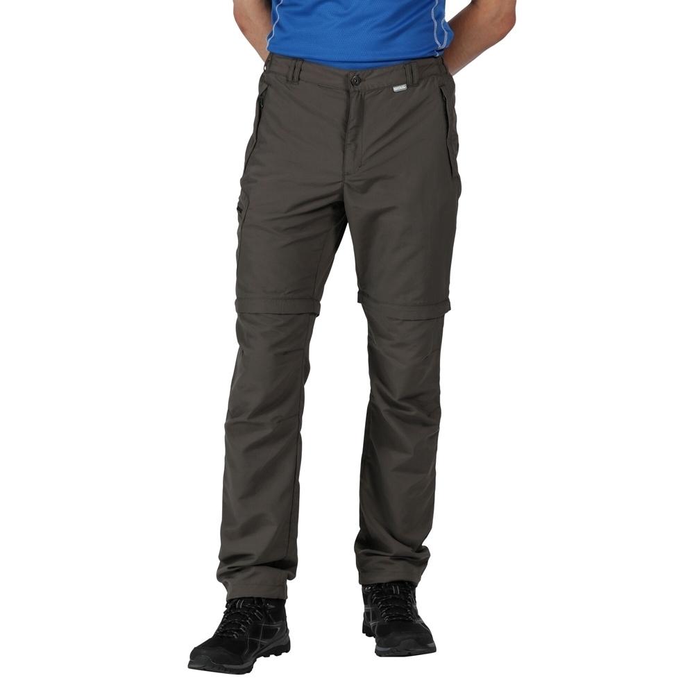 Regatta Mens Leesville Zip Off Lightweight Walking Trousers 38 - Waist 38 (96.5cm)  Inside Leg 33