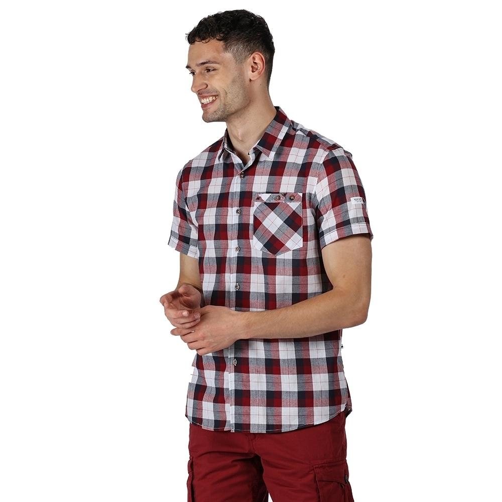 Regatta Mens Bahram 100% Cotton Short Sleeve Polo Shirt Xl - Chest 43-44 (109-112cm)