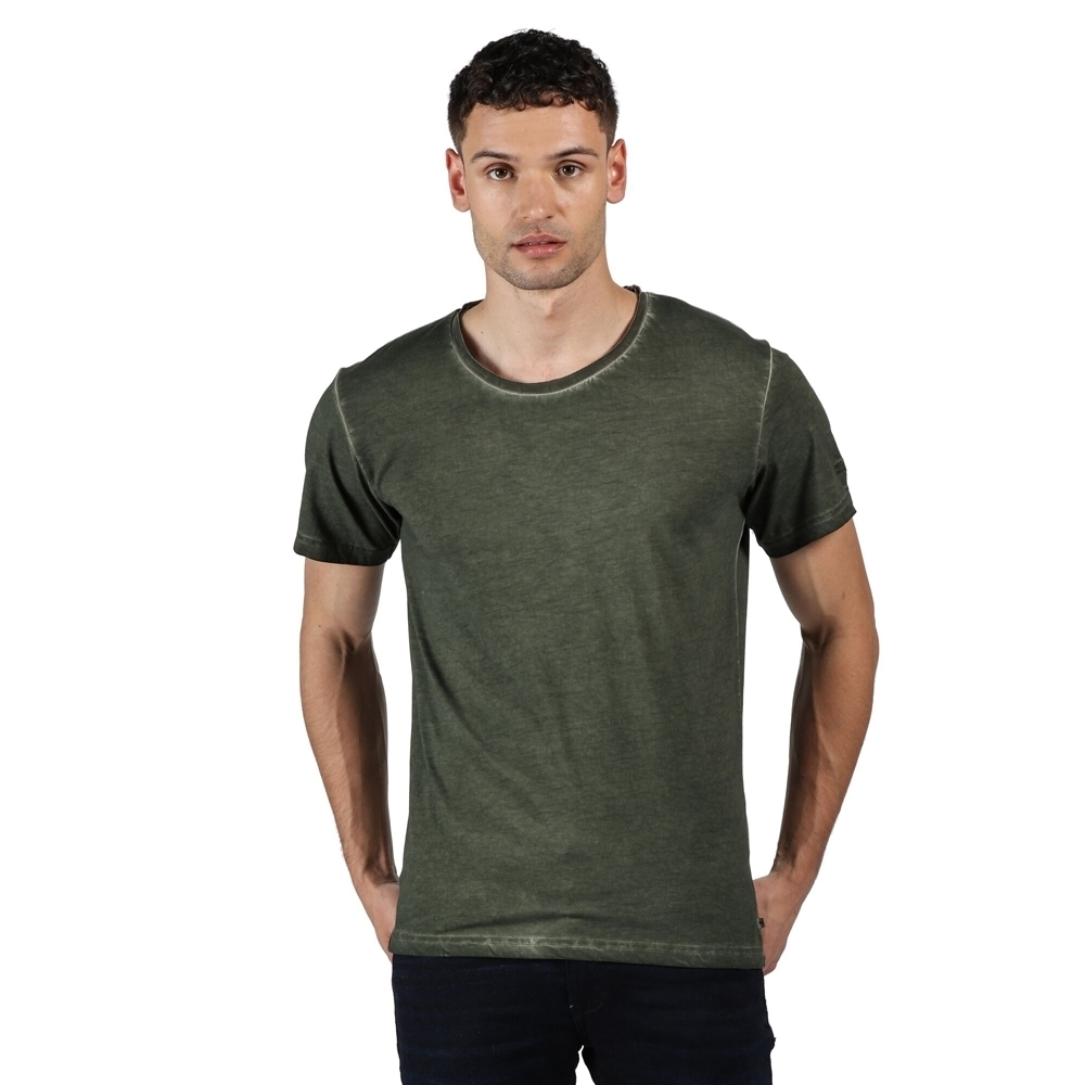 Outdoor Look Mens Keiss Wicking Cool Dry Running Gym Top Sport T Shirt L- Chest Size 44