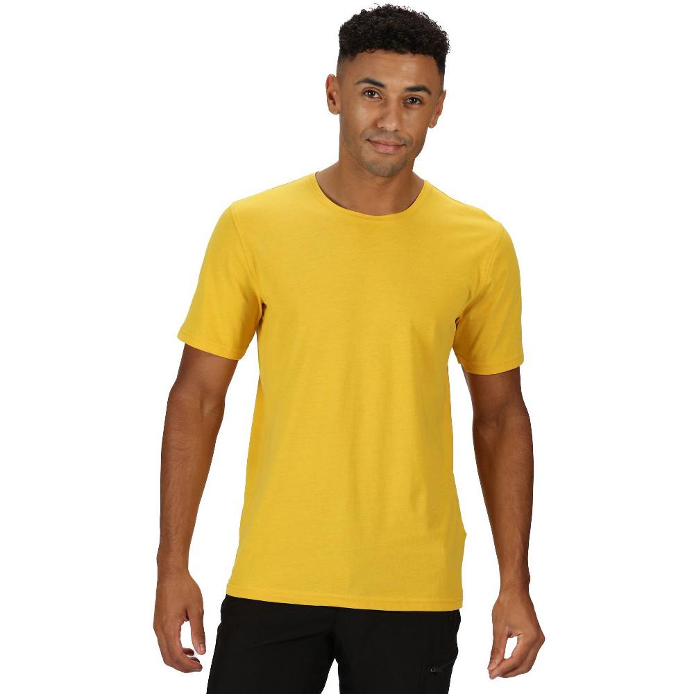 Regatta Mens Tait Coolweave Cotton Soft Touch T Shirt L - Chest 41-42 (104-106.5cm)