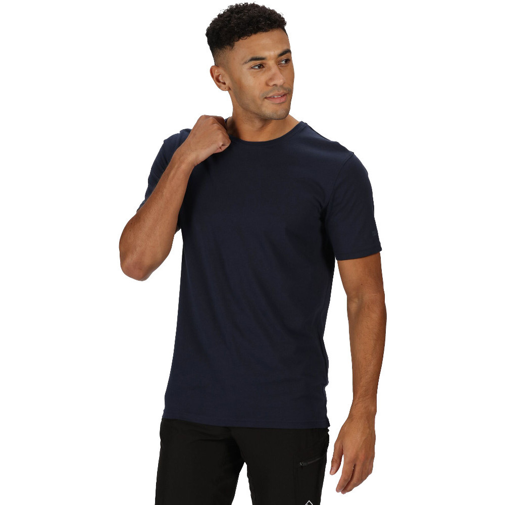 Under Armour Mens Charged Cotton Quick Drying Wicking Active T Shirt M - Chest 38-40 (96.5-101.6cm)