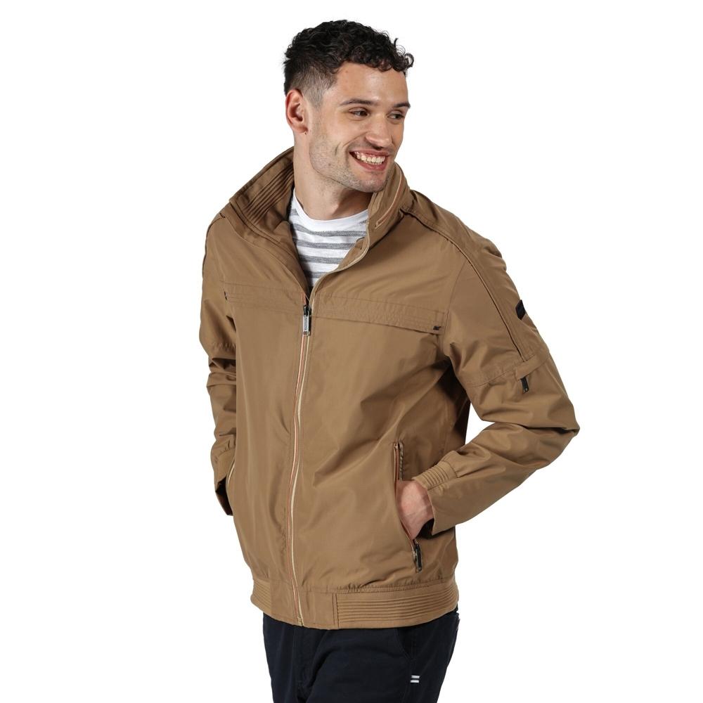 Regatta BoysandGirls Excelsis Polyester 2 Tone Full Zip Durable Jacket 5-6 Years - Chest 59-61cm (height 110-116cm)