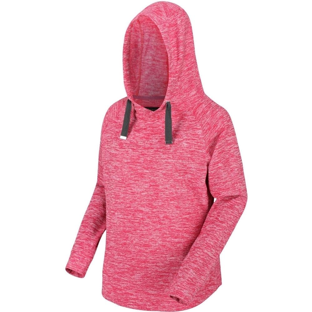 Regatta Womens Callidora Marl Hooded Jumper Hoodie Sweater 10 - Bust 34 (86cm)