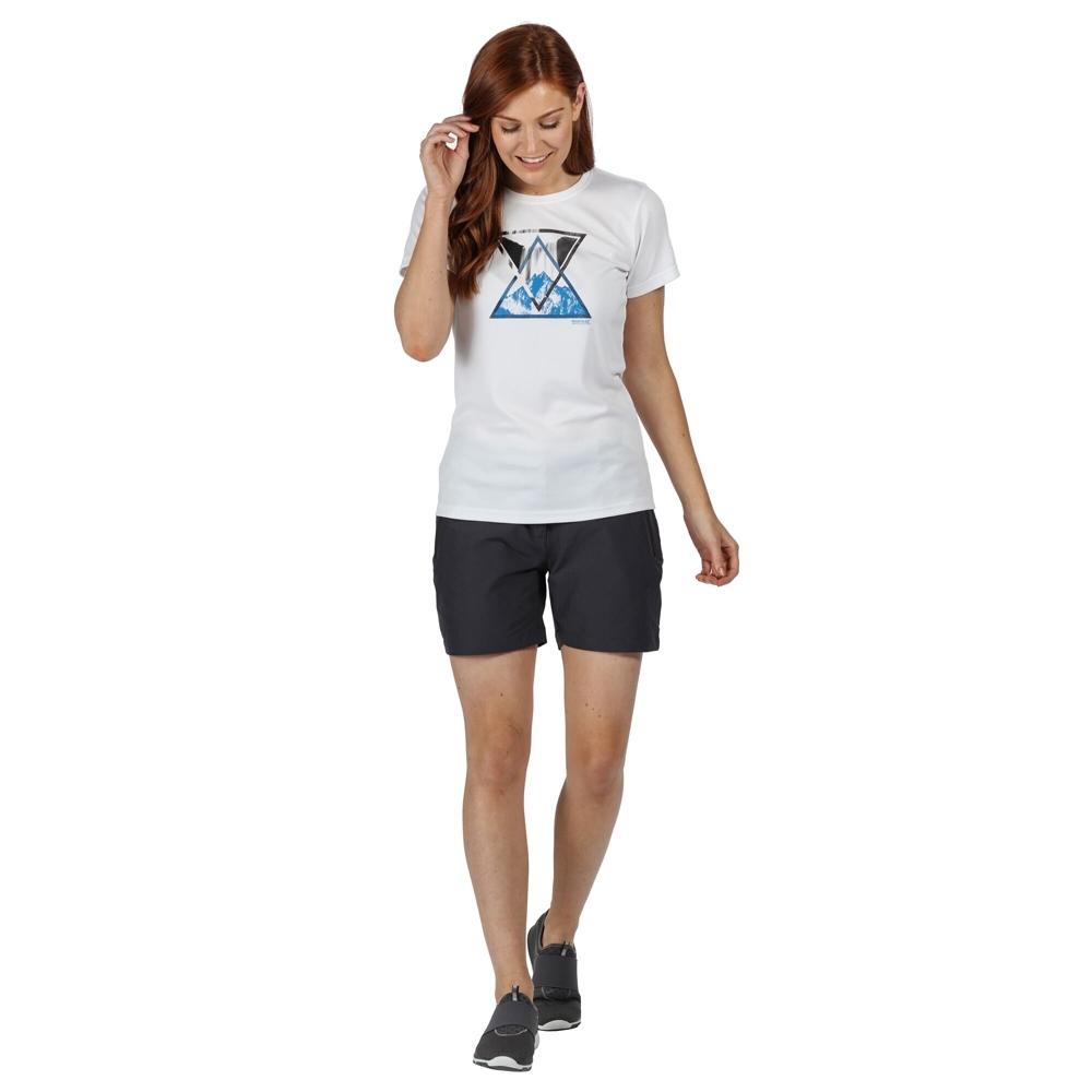 Regatta Mens Calton Coolweave Cotton Casual Graphic T Shirt L - Chest 41-42 (104-106.5cm)
