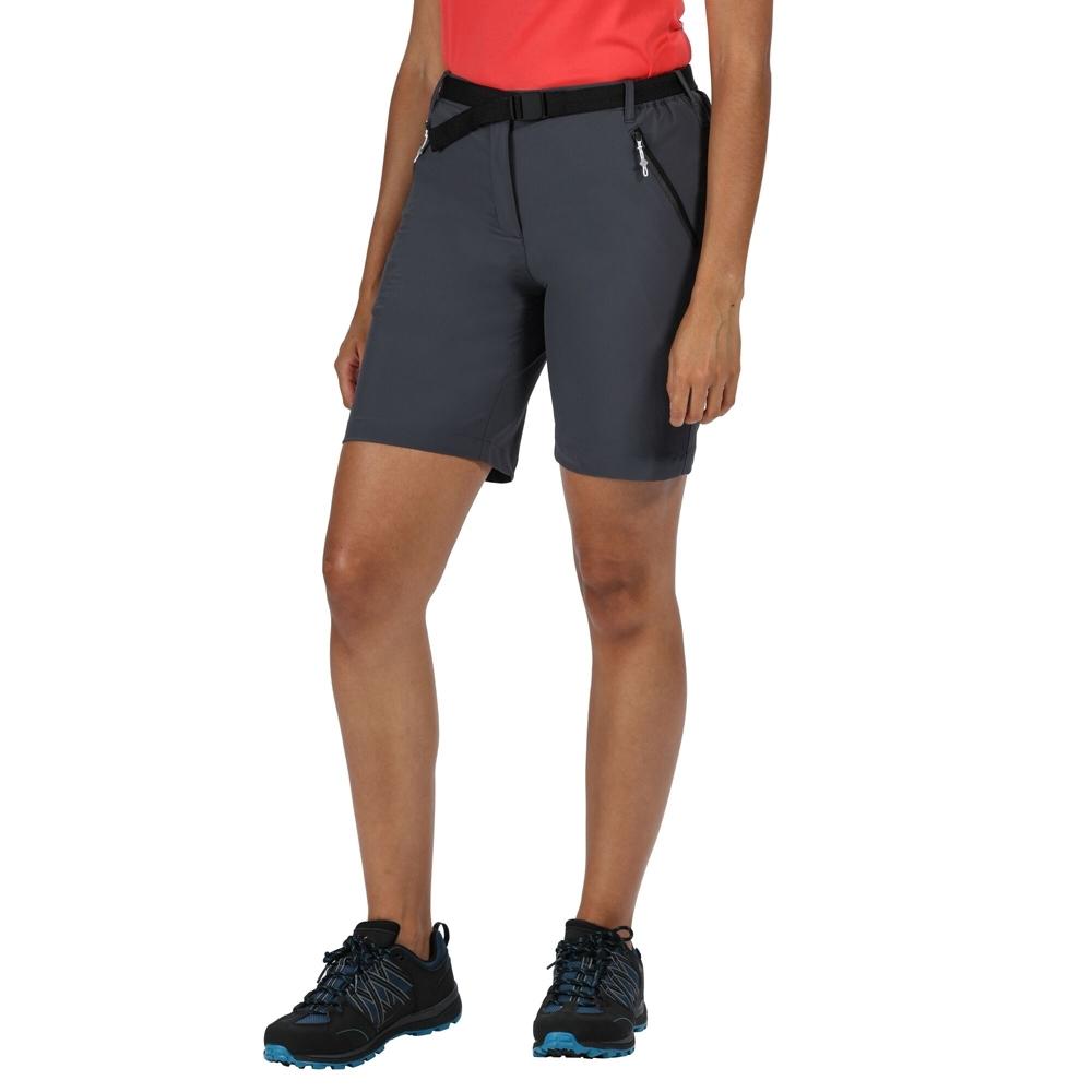 Regatta Womens Xert Stretch Iii Durable Summer Active Shorts 8 - Waist 25 (63cm)