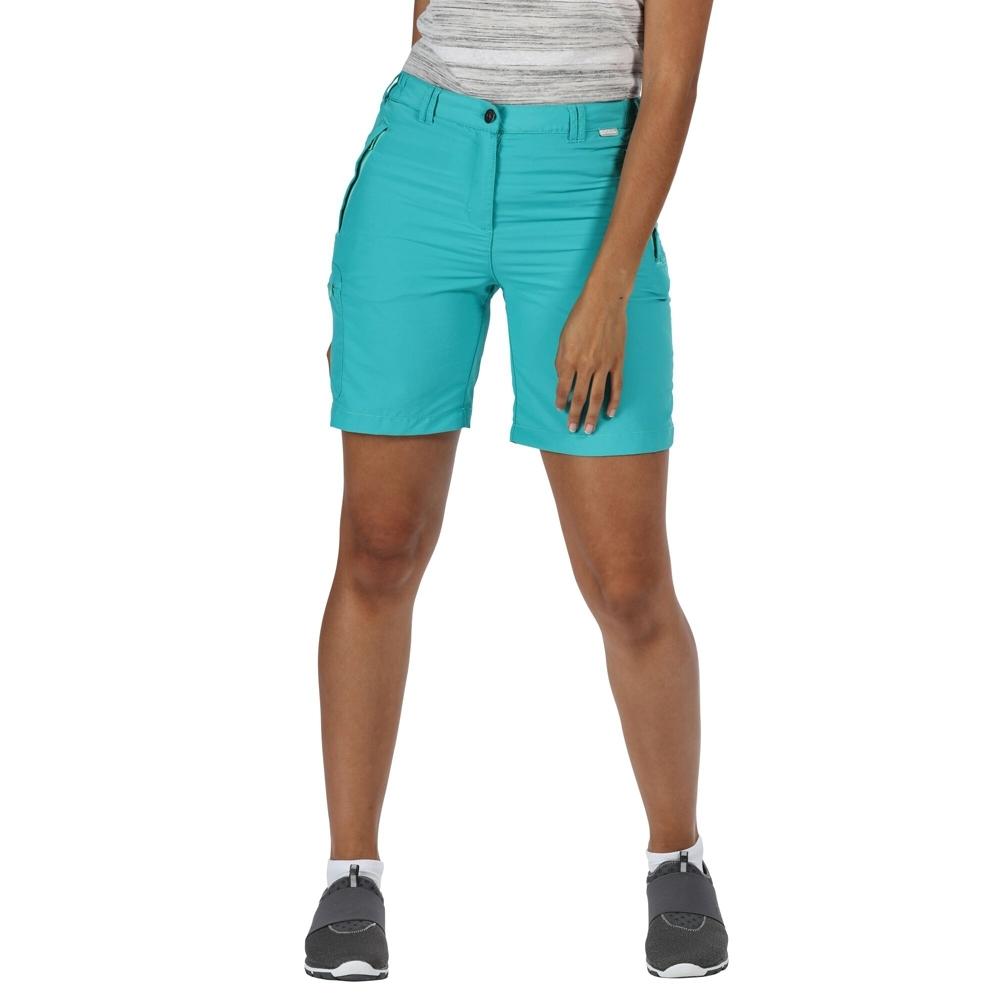 Regatta Womens Chaska Ii Lightweight Quick Drying Shorts 8 - Waist 25 (63cm)