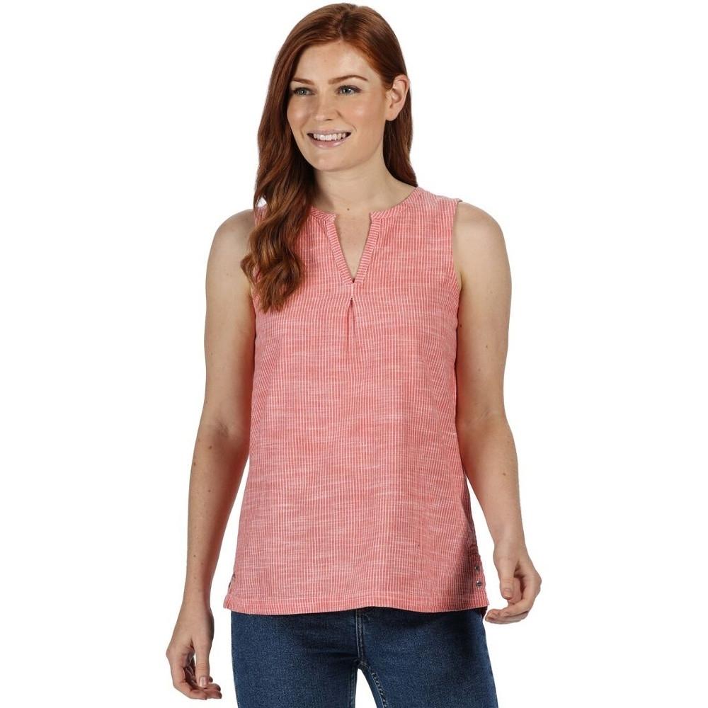 Regatta Womens Jadine Blouse Lightweight Sleeveless Shirt 8 - Bust 32 (81cm)