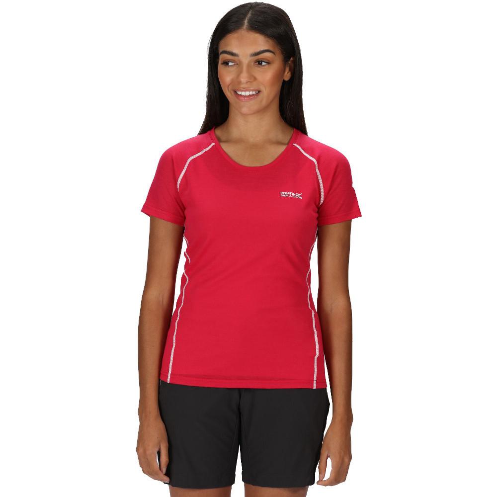 Regatta Womens Tornell Ii Moisture Control Active T Shirt 8 - Bust 32 (81cm)