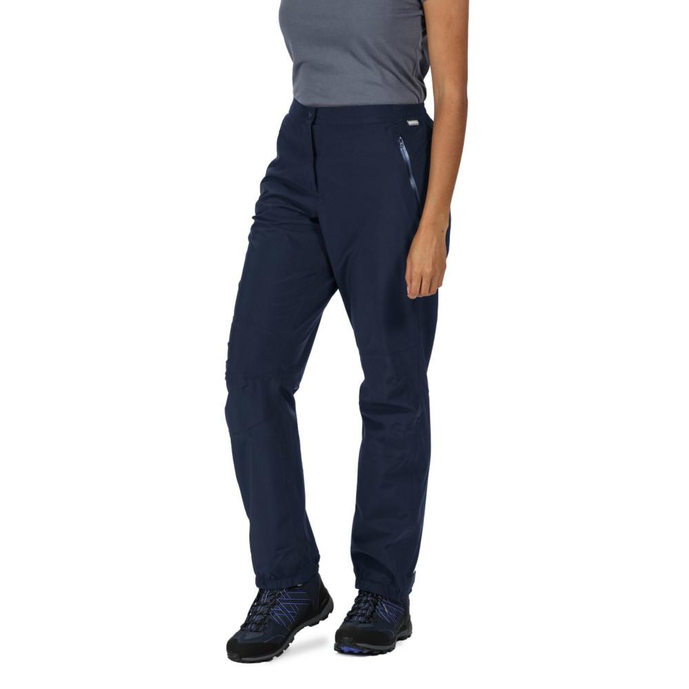 Regatta Womens Highton Adjustable Walking Over Trousers S - Waist 26-28 (66-71cm)  Inside Leg 31