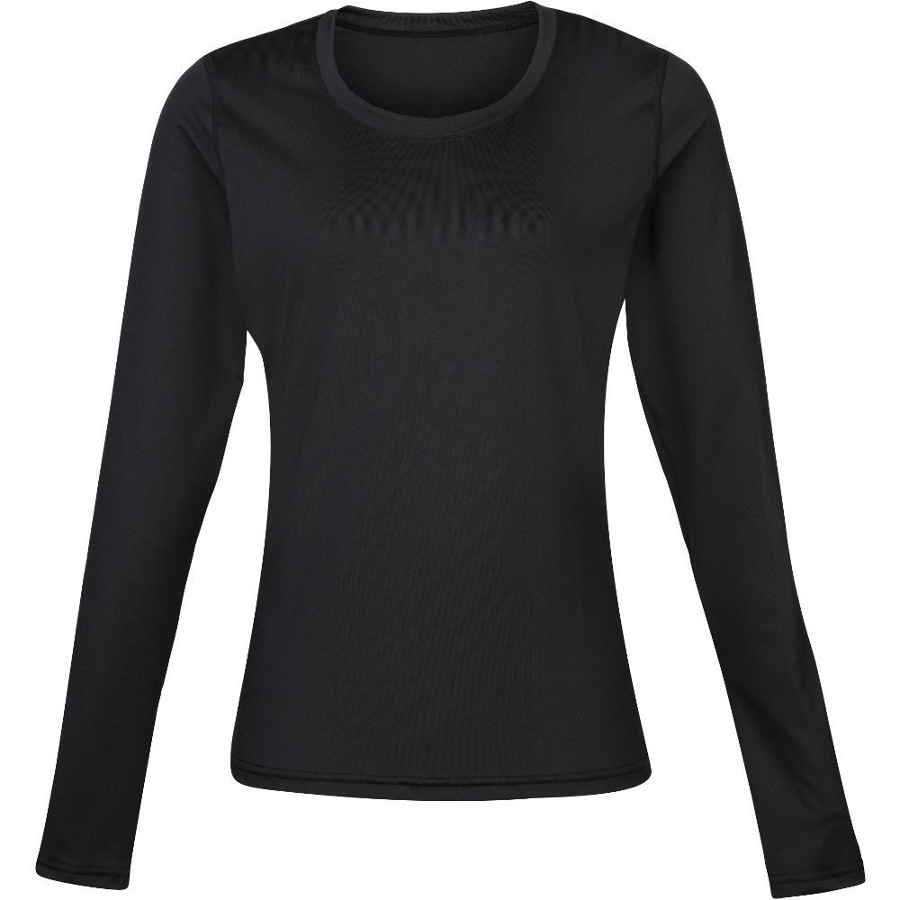 Rhino Womens Lightweight Quick Dry Long Sleeve Baselayer Top Uk Size 10