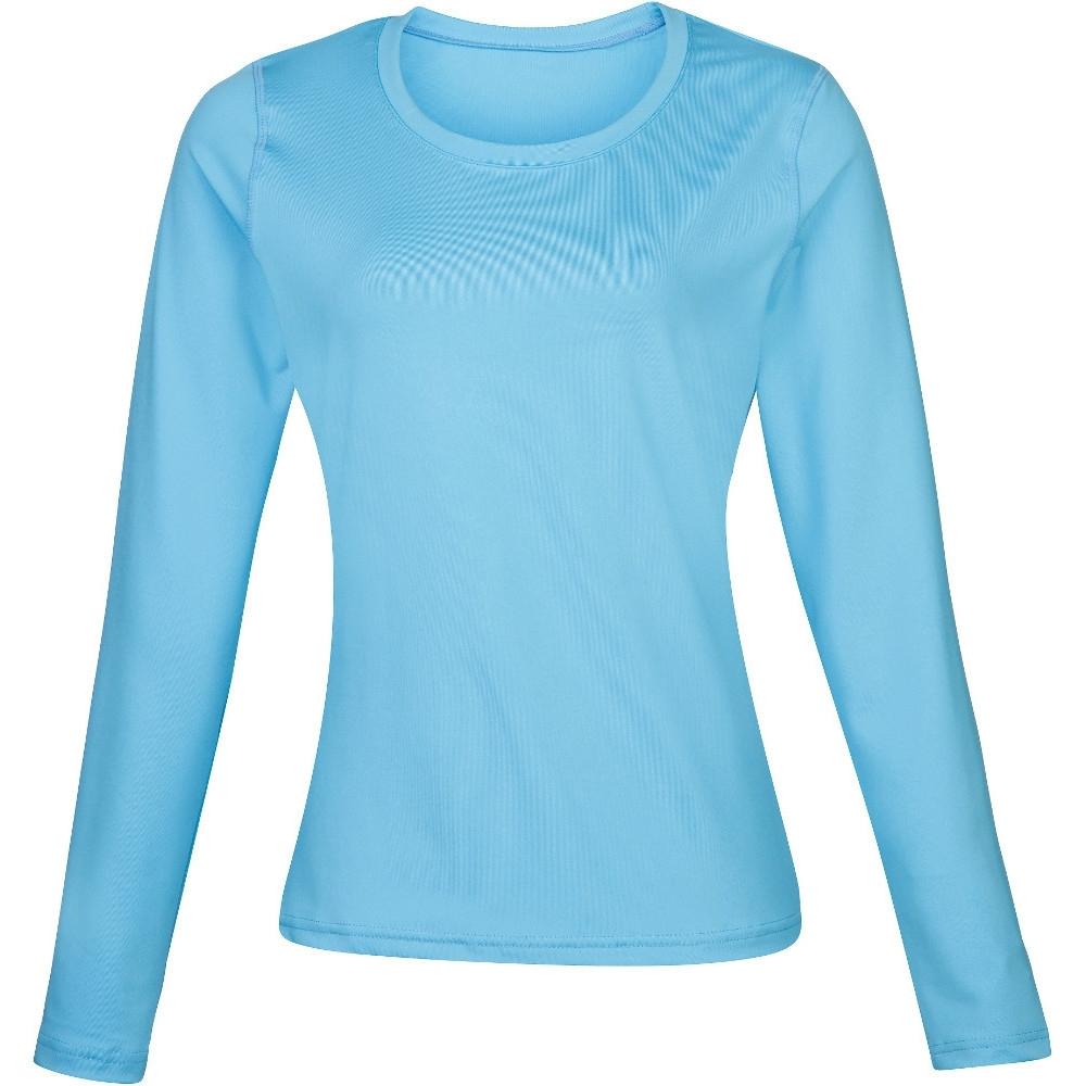 Rhino Womens Lightweight Quick Dry Long Sleeve Baselayer Top Uk Size 8