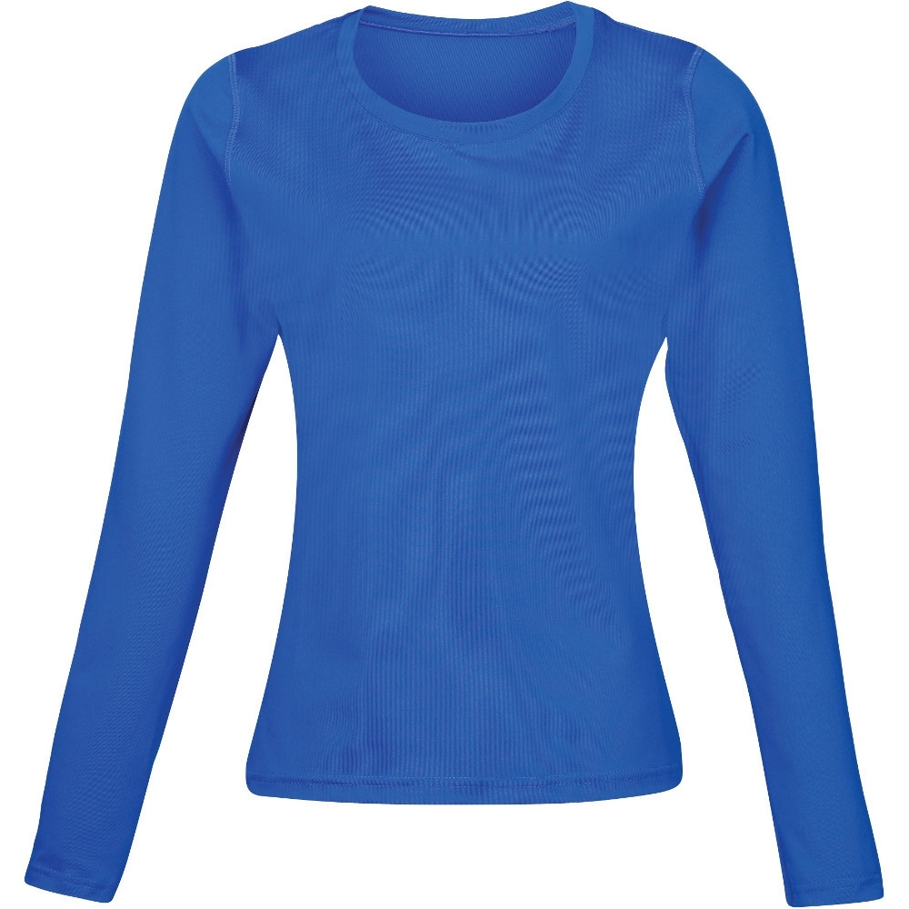 Rhino Womens Lightweight Quick Dry Long Sleeve Baselayer Top Uk Size 12