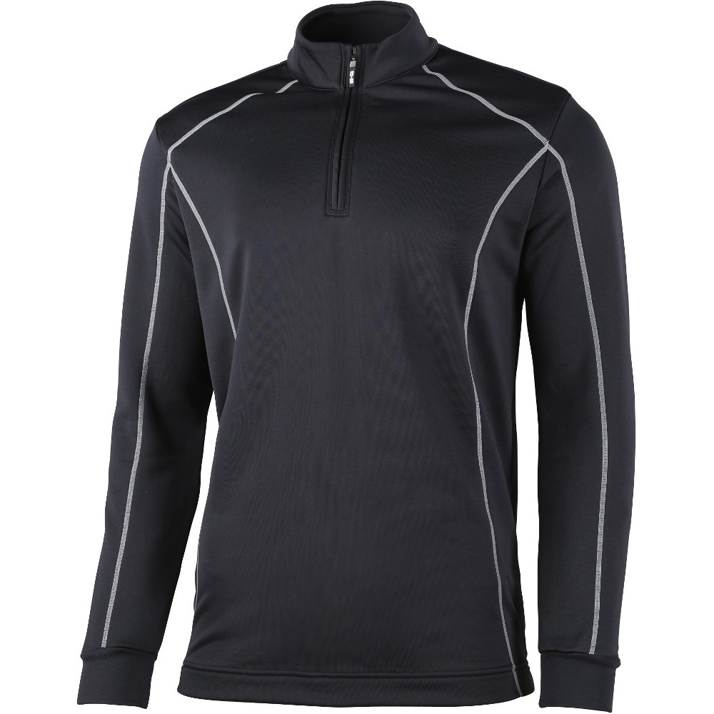 Rhino Mens Seville  Zip Breathable Mid Layer Running Top Xl- (chest 46)