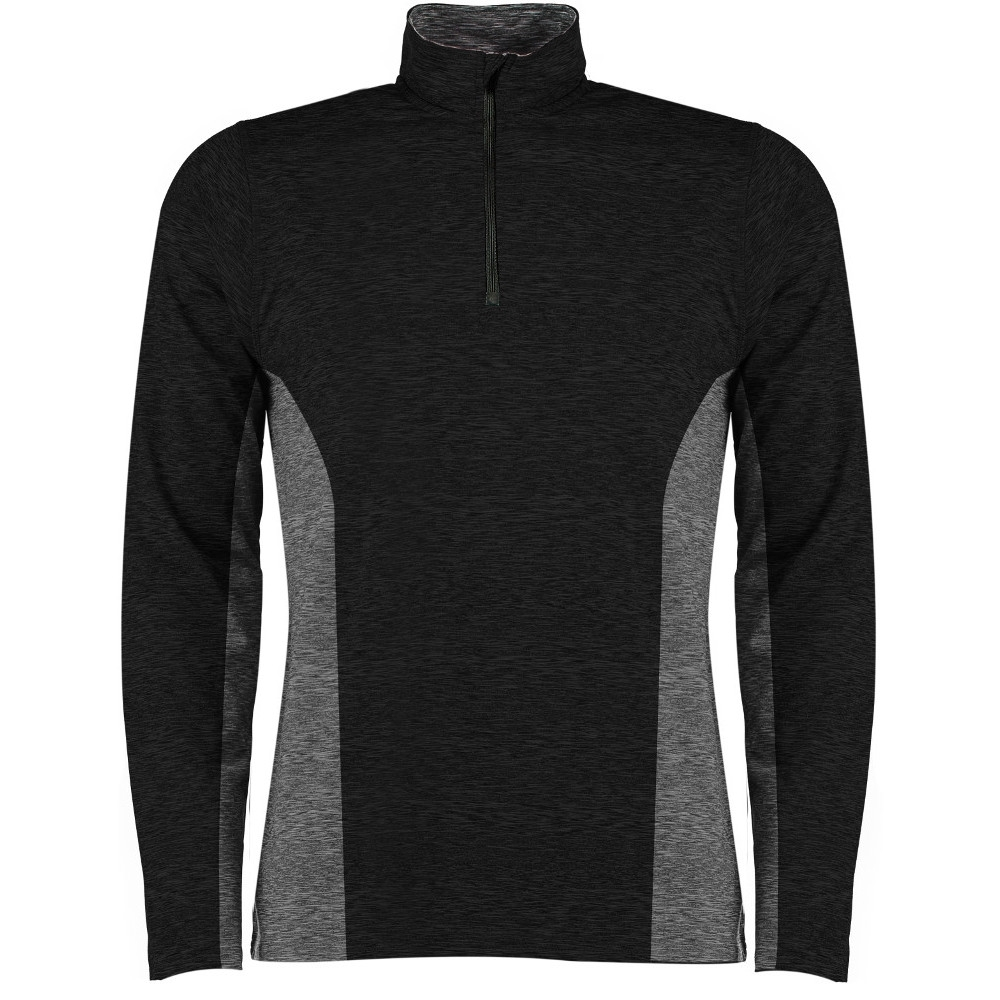Regatta Mens Lucan Button Neck Opening Jacquard Fleece Sweatshirt Top 3xl - Chest 49-51 (124.5-129.5cm)