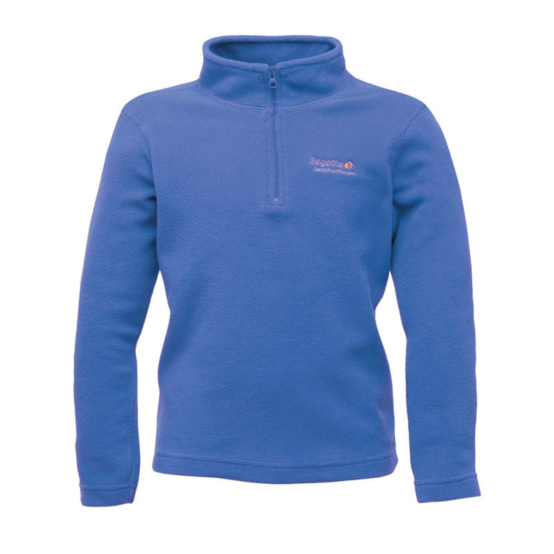Product image of Regatta Hot Shot Children's Half Zip Fleece BlueberryPie