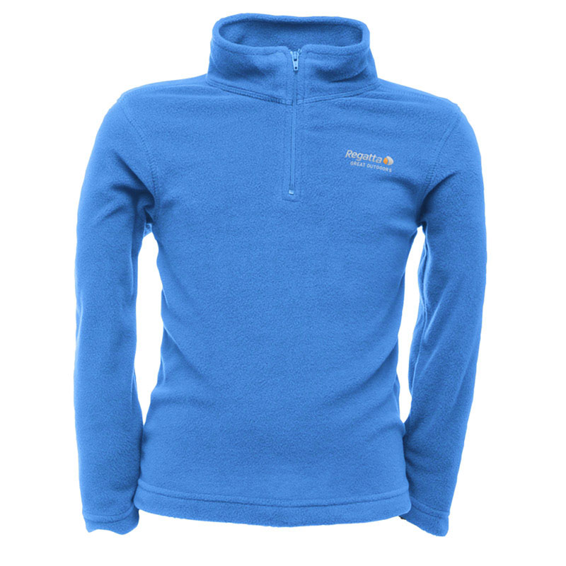 Product image of Regatta Hot Shot Children's Half Zip Fleece Oxford Blue