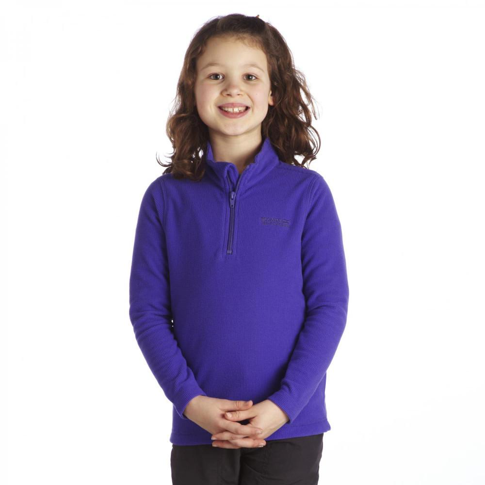 Product image of Regatta Boys & Girls Lifetime II Quarter Zip Fleece Midlayer Top 11 years - Chest 75-79cm