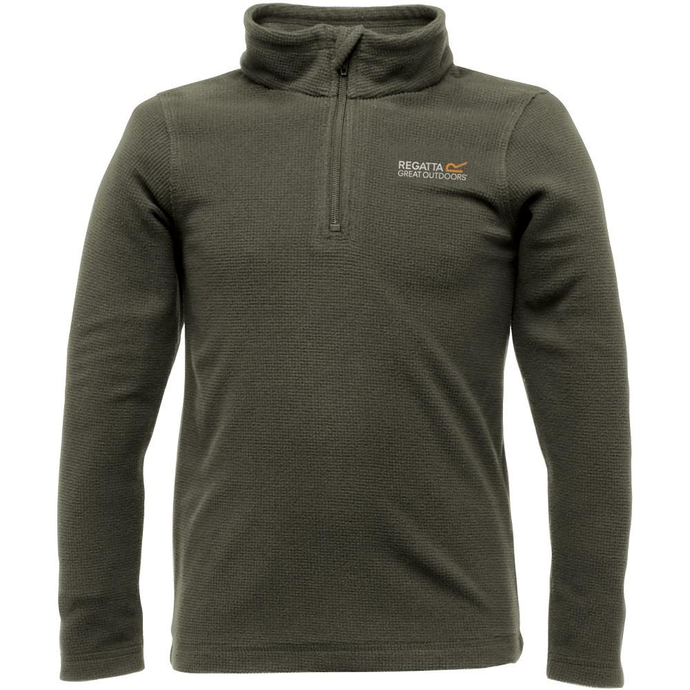 Product image of Regatta Boys & Girls Lifetime II Quarter Zip Fleece Midlayer Top 5 years - Chest 59-61cm