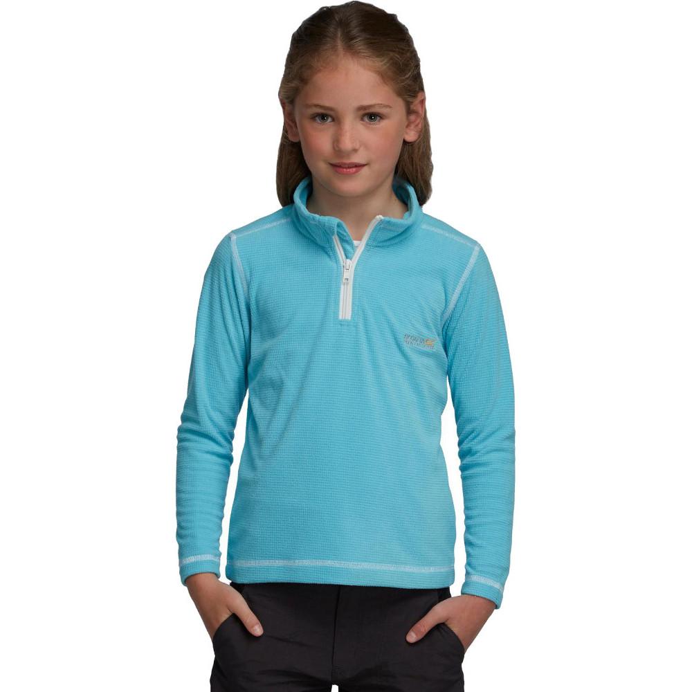 Product image of Regatta Boys & Girls Lifetime II Quarter Zip Fleece Midlayer Top 34' - Chest 83-85cm