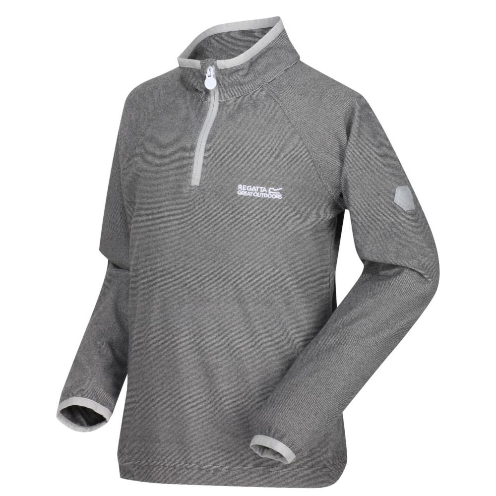 Regatta BoysandGirls Loco Zip Neck Stretch Fit Micro Fleece Jacket Top 3-4 Years - Chest 55-57cm (height 98-104cm)