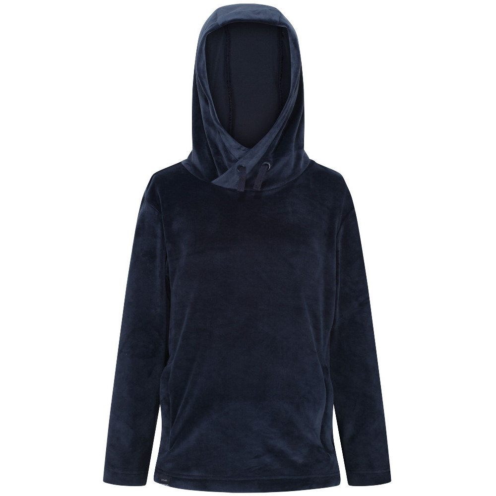 Regatta Boys Kacie Stripe Fleece Cowl Neck Sweater Hoodie 3-4 Years - Chest 55-57cm