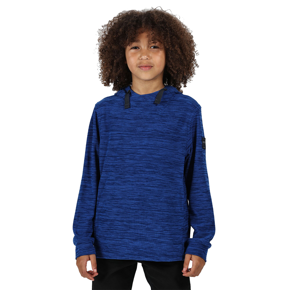 Regatta Boys Kade Hooded Pullover Sweater Jumper 5-6 Years - Chest 59-61cm (height 110-116cm)