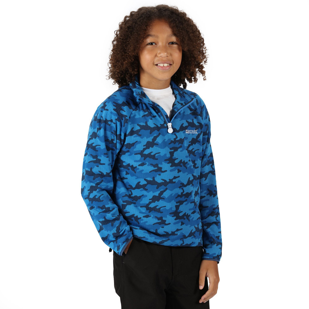 Regatta BoysandGirls Junior Highton Half Zip Fleece Jacket 9-10 Years - Chest 69-73cm (height 135-140cm)